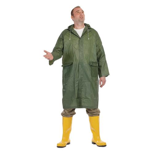 Obrázok z Červa IRWELL Nepremokavý plášť zelený