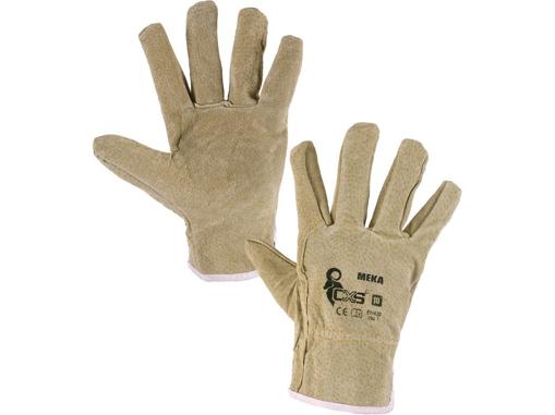 Obrázok z CXS MEKA Pracovné kožené rukavice