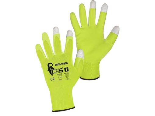 Obrázok z CXS BRITA TOUCH Pracovné polomáčané rukavice