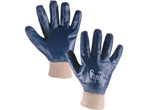 Obrázok z CXS ARET Pracovné polomáčané rukavice