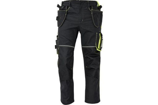 Obrázok z KNOXFIELD 310 Pracovné nohavice do pása - antracit / žltá