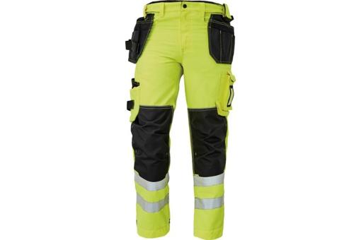 Obrázok z KNOXFIELD HI-VIS 310 FL Reflexné nohavice do pása - žltá