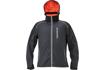 Obrázok z KNOXFIELD Pánska softshellová bunda antracit / oranžová