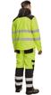 Obrázok z KNOXFIELD HI-VIS Pánska softshellová bunda žltá