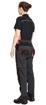 Obrázok z KNOXFIELD LADY Pracovné nohavice do pása - antracit / červená