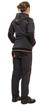 Obrázok z KNOXFIELD LADY Pracovná mikina s kapucňou - antracit / červená