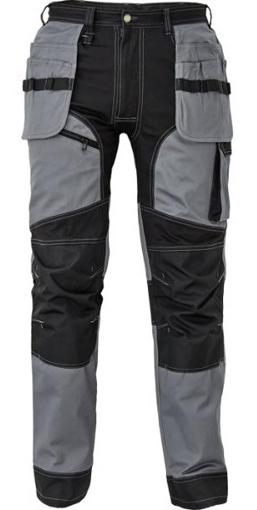 Obrázok z Červa KEILOR Pracovné nohavice do pása šedé