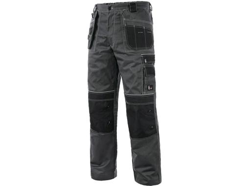 Obrázok z CXS ORION TEODOR PLUS Pracovné nohavice do pása šedo / čierne