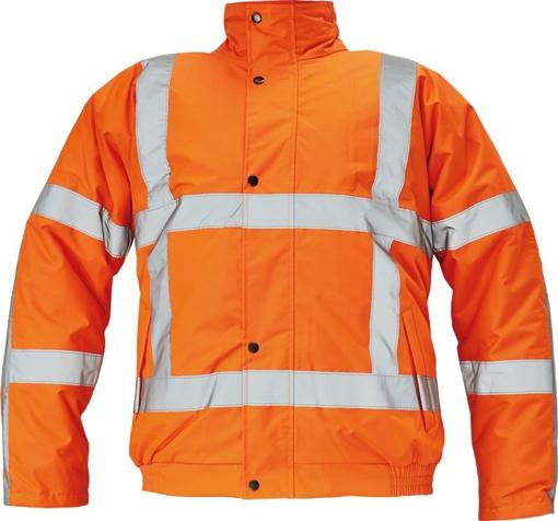 Obrázok z Červa CLOVELLY PILOT RWS Reflexná bunda oranžová 2v1 - zimná