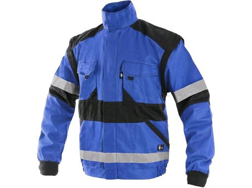 Obrázok z CXS LUXY BRIGHT Montérková blúza modro / čierna