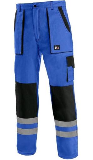 Obrázok z CXS LUXY BRIGHT Pracovné nohavice do pásu modro / čierne