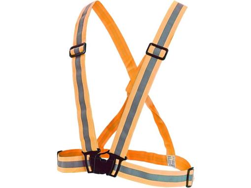 Obrázok z CXS CROSS Reflexnej elastický kríž oranžový