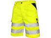 Obrázok z CXS NORWICH Reflexné pracovné kraťasy - žlté