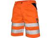 Obrázok z CXS NORWICH Reflexné pracovné kraťasy - oranžové