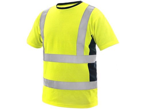 Obrázok z CXS EXETER Reflexné tričko žlté