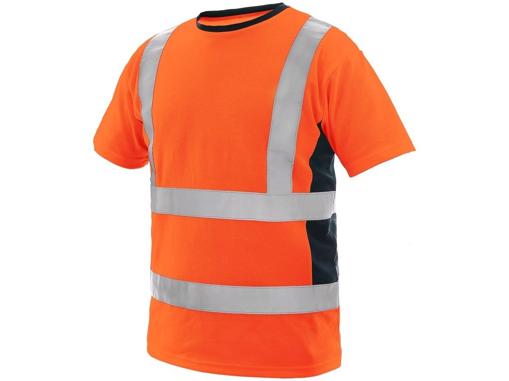 Obrázok z CXS EXETER Reflexné tričko oranžové