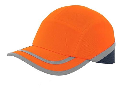Obrázok z CXS CALLUM Reflexná šiltovka s plastovou výstuhou oranžová