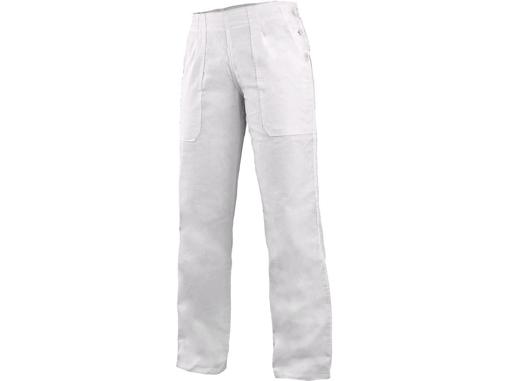 Obrázok z CXS DARJA Dámske nohavice biele - 145g/m2