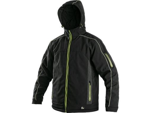Obrázok z CXS VANCOUVER Pánska softshellová bunda čierna - zimná