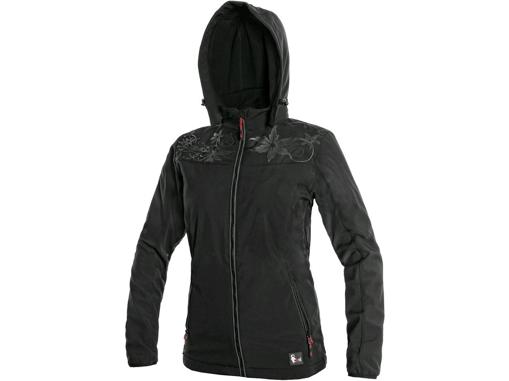 Obrázok z CXS PAGE Dámska softshellová bunda čierna