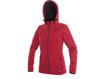 Obrázok z CXS PAGE Dámska softshellová bunda červená