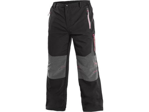 Obrázok z CXS MONTREAL Pánske nohavice čierno / červené