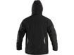 Obrázok z CXS KINGSTON Pánska zimná softshellová bunda čierno / modrá
