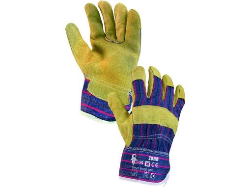 Obrázok z CXS ZORO Pracovné kombinované rukavice