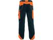 Obrázok z CXS SIRIUS BRIGHTON Pracovní kalhoty modro-oranžové