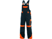 Obrázok z CXS SIRIUS BRIGHTON Pracovné nohavice s trakmi modro-oranžové
