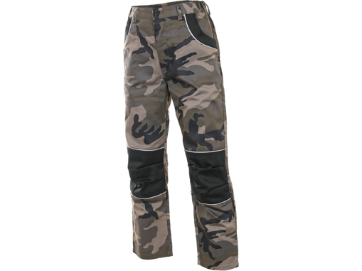 Obrázok z CXS WOODY Detské nohavice do pása maskáčové