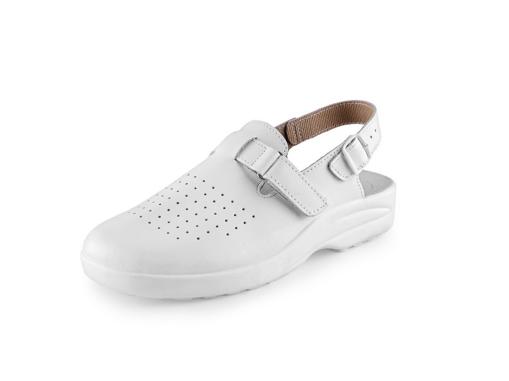 Obrázok z CXS WHITE MIKA Pracovné sandále