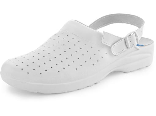 Obrázok z CXS WHITE MISA Pracovné sandále