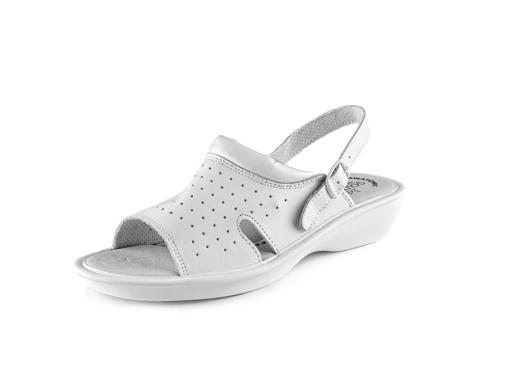 Obrázok z CXS WHITE LIME Pracovné sandále