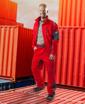 Obrázok z VISION Montérková blúza červená skrátená