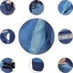 Obrázok z Červa MONTROSE Pracovné nohavice do pásu modré