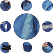 Obrázok z Červa MONTROSE Pracovné nohavice s trakmi modré