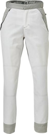 Obrázok z Červa MONTROSE LADY Pracovné nohavice do pásu biele