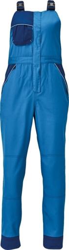 Obrázok z Červa MONTROSE LADY Pracovné nohavice s trakmi modré
