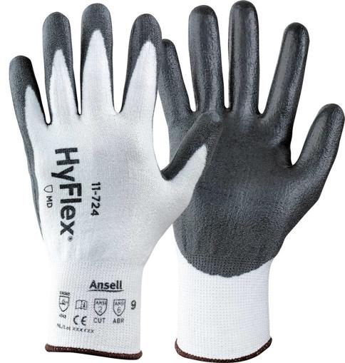 Obrázok z Ansell HYFLEX 11-724 Pracovné rukavice
