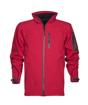 Obrázok z ARDON SPIRIT 07 Pánska softshellová bunda zimná červená