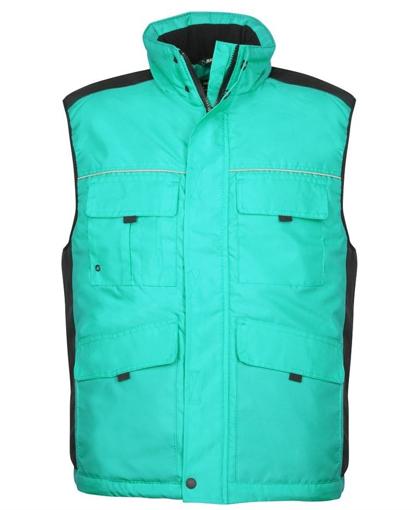 Obrázok z ARDON SWEN Pánska zateplená vesta zelená