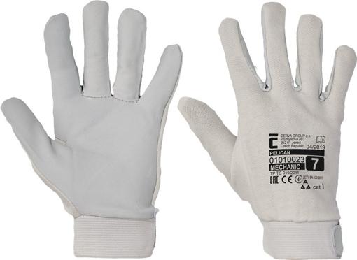 Obrázok z Červa PELICAN Pracovné rukavice - 120 párov