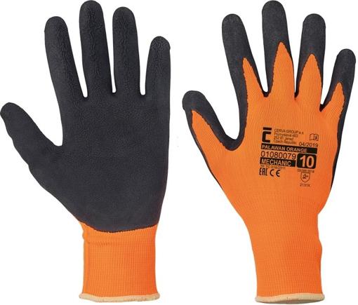 Obrázok z Červa PALAWAN ORANGE Pracovné rukavice - 120 párov