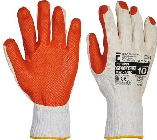 Obrázok z Červa REDWING Pracovné rukavice - 120 párov