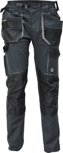 Obrázok z Červa DAYBORO Pracovné nohavice do pásu antracit / šedá