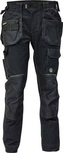 Obrázok z Červa DAYBORO Pracovné nohavice do pásu čierna / antracit