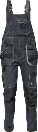 Obrázok z Červa DAYBORO Pracovné nohavice s trakmi antracit / šedá