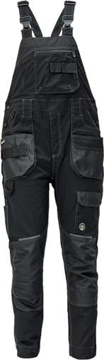 Obrázok z Červa DAYBORO Pracovné nohavice s trakmi čierna / antracit