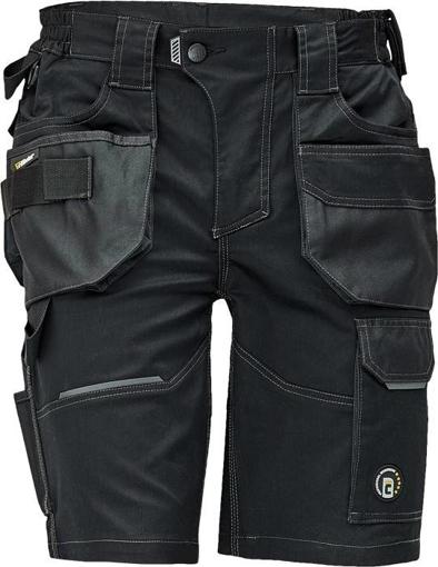 Obrázok z Červa DAYBORO Pracovné šortky čierna / antracit